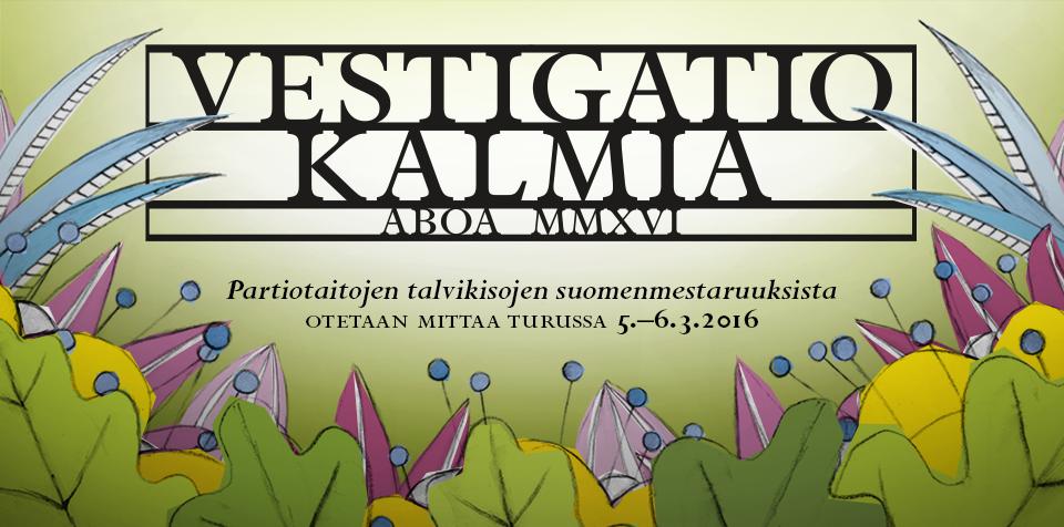 Partiotaitojen talvikisojen suomenmestaruuksista otetaan mittaa Turussa 5.–6.3.2016.